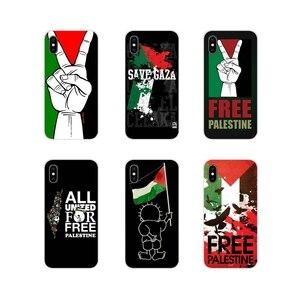 Аксессуары для телефона Чехлы для samsung Galaxy S3 S4 S5 мини S6 S7 край S8 S9 S10 Lite рlus Note 4 5 8 9 бесплатная палестинский флаг