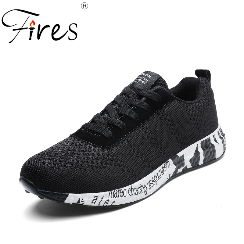 Fires Men Run Sport Shoes Breathable Outdoor Jogging Shoes Male Summer Running Sneakers Comfortable Light Men Sneaker