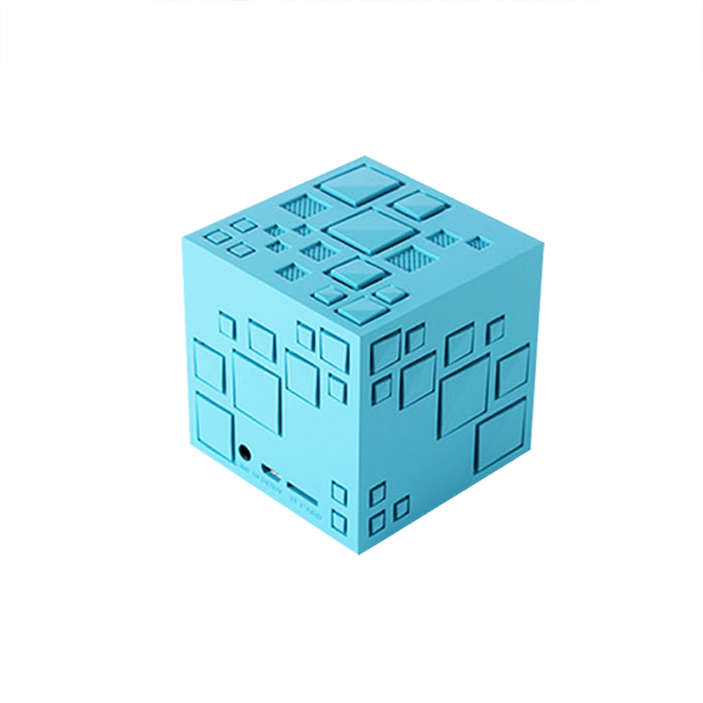 Portable Speakers Mini Unique Design Rubiks Cube Shape Speaker 3.5 Mm Aux Input Bt Portable Stereo Stylish Decoration Sound Box We Take Customers As Our Gods Speakers