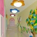 Kinderkamer bloemen LED plafondlamp rood en geel blauw mooie tuin kleuterschool kanaal kroonluchter ZL204