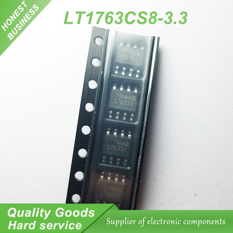 5pcs/lot LT1763CS8-3.3 <font><b>LT1763</b></font> 176333 LT176333 SOP8 500ma ldo voltage regulator new original image
