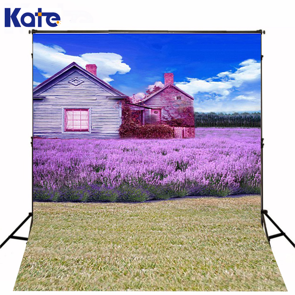 Kate 150x220cm Spring Photography Backdrop Fundo Chalet Flowers Blue Sky3D Baby Photography Backdrop Background LK 1881 215cm 150cm fundo stars in the night sky3d baby photography backdrop background lk 2161