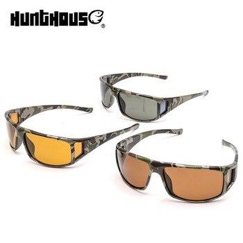 8531b446a6 Hunthouse camuflaje marco pesca gafas de sol polarizadas  gris/amarillo/marrón Color pesca gafas de sol
