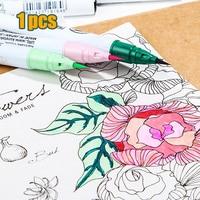 20 Color Notes Graffiti Pen Neutral Fibre Hook Line Pen Drawing Pen Soft Pen Tip High