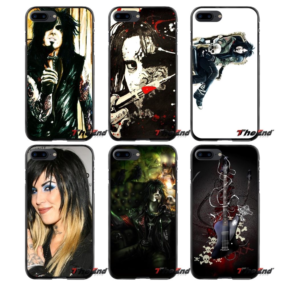 Accessories Phone Cases Covers For Apple iPhone 4 4S 5 5S 5C SE 6 6S 7 8 Plus X iPod Touch 4 5 6 Nikki Sixx