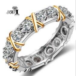 YaYI-bague de fiançailles, bague de mariage, couleur Zircon blanc, 3.2 CT, bijoux à la mode pour princesse