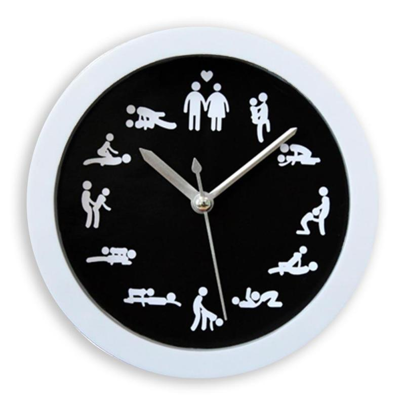 Hot Novelty 12 Kinds Y Gestures Home Clock Funny Decoration Wooden Circular Clocks For Living Room A20 In Alarm From Garden On
