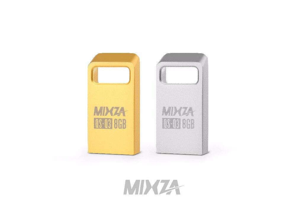 MIXZA QS-Q3 Mini USB Flash Drive USB Pendrive 4GB/8GB/16GB/32GB/64GB Flash Drive USB Stick USB 2.0 mixza rotating metal usb flash drive usb 4gb 8gb 16gb 32gb 64gb 128gb flash drive usb stick usb 2 0
