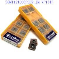 כלי קרביד כלי 20PCS SOMT12T308 PEER JM VP15TF קרביד הכנס חיתוך כלי CNC מחרטה כלי SOMT 12T308 כרסום כלי (3)