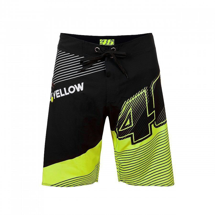 NEW 2017 Beach shorts For Valentino Rossi VR46 Boardshorts Moto GP 46 The Doctor For M1 Motorcycle Motorbike Shorts