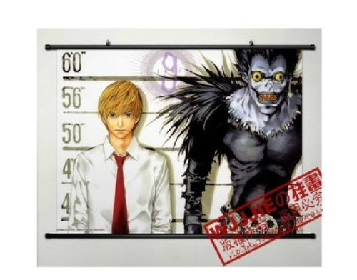 Death Note Anime HD Print Wall Poster Scroll Home Decor Cosplay