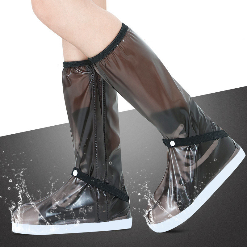 100% Waterproof Rain Shoes Covers Thicker Scootor Boots Covers Mens Womens Shoe Cover For Motorcycle/Fishing/Climbing Overshoes