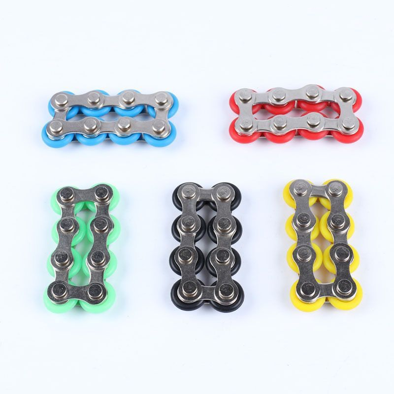 Fidget Spinner Desk-Toys Bike Anti-Stress ADHD Chain Autism for And Chaney Reliever 1pcs img2