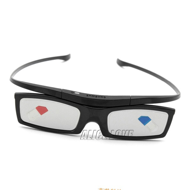 New Bluetooth 3D Shutter Active Glasses for Samsung SSG-5100GB 3DTVs Universal TV cardboard Free Shipping