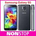 Abierto original samsung galaxy s5 i9600 g900f g900h g900a g900 16mp quad-core gps wifi reformado teléfono celular smartphone