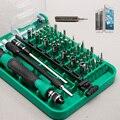 Novo 9002 Conjunto Chave de Fenda Magnética 45 Em 1 chave de Fenda de Precisão Ferramentas