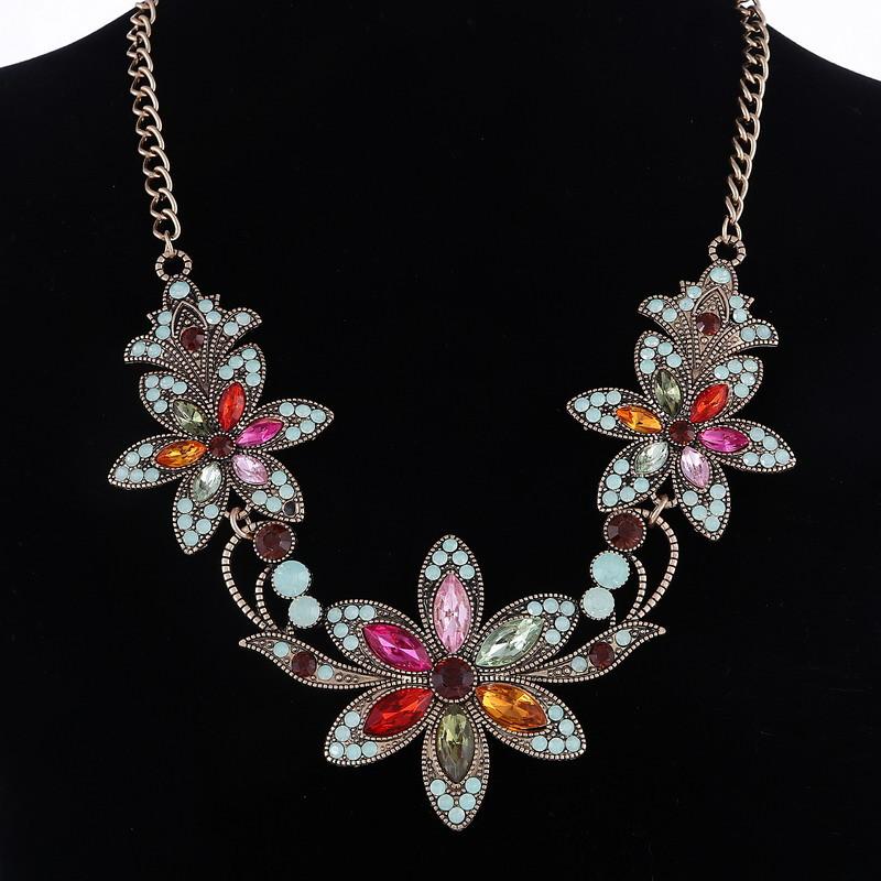 19 Fashion Designer Chain Choker Statement Necklace Women Necklace Bib Necklaces & Pendants Gold Silver Chain Vintage Jewelry 14