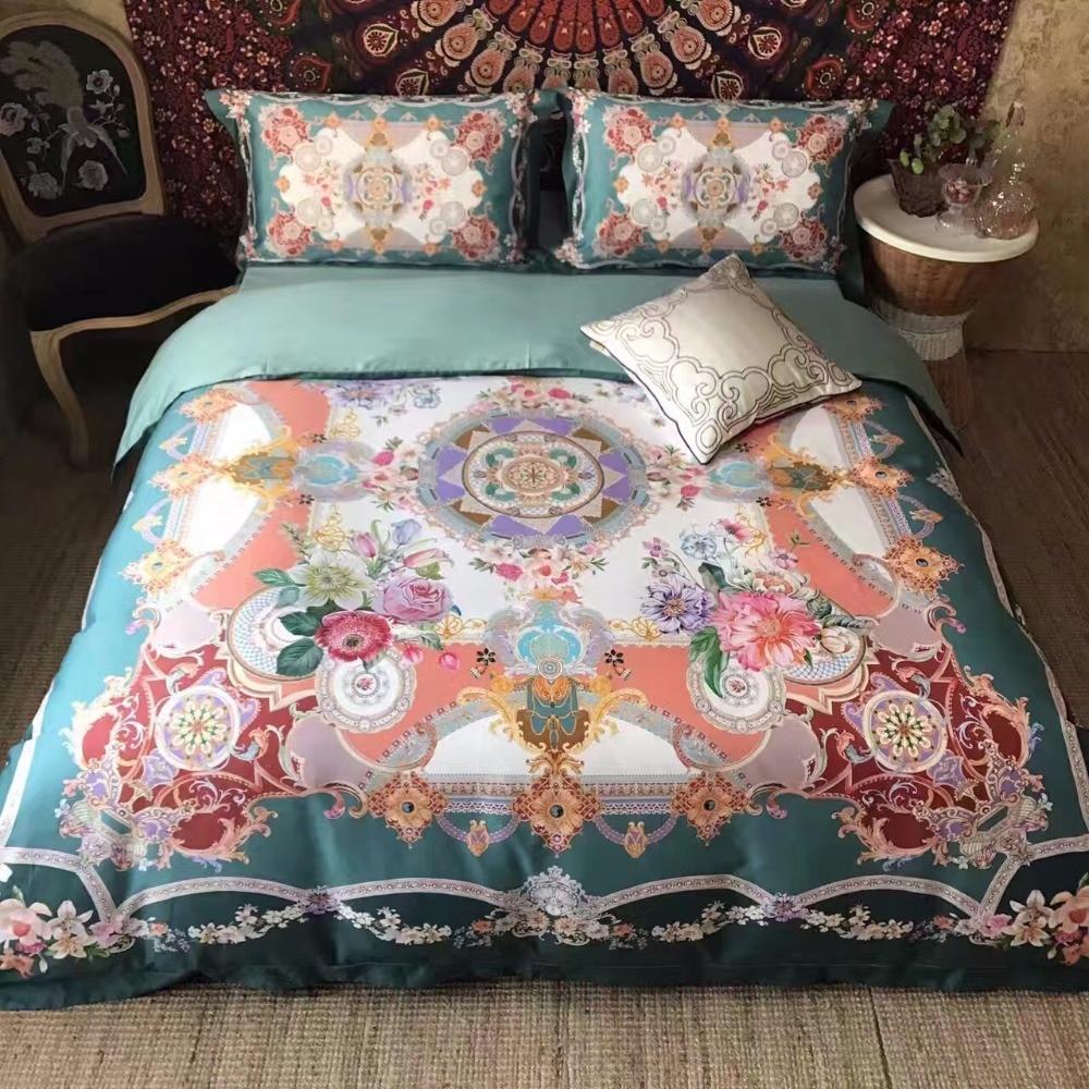 2017 luxury noble pima cotton bedding set bedcover sets for Pima cotton comforter