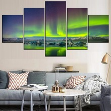Wall Art Canvas Painting Natural 5 Piece HD Print Modern Decor Picture Poster Landscape Living Room