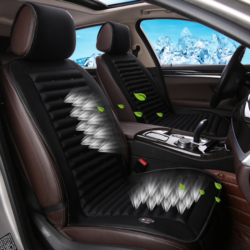summer car seat cushion air conditioning car fan seat summer auto seat covers for bmw benz buick. Black Bedroom Furniture Sets. Home Design Ideas
