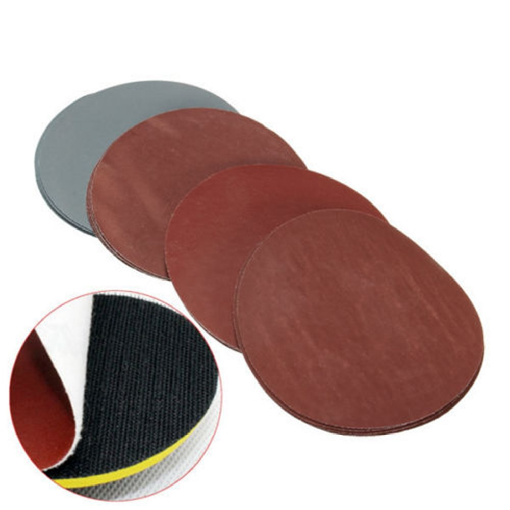 20pcs 125mm 5 Inch Sanding Discs 1000 1500 2000 3000 Grit Polishing Sand Paper For Power Tools-in Abrasive Tools from Tools