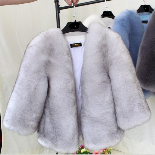 Mujeres Outwear Tamaño Invierno Piel Mujer Las 2019 Plus Abrigo Beige Visón Z250 Chaqueta Peludo Artificial De Falsa gIWc64g1S