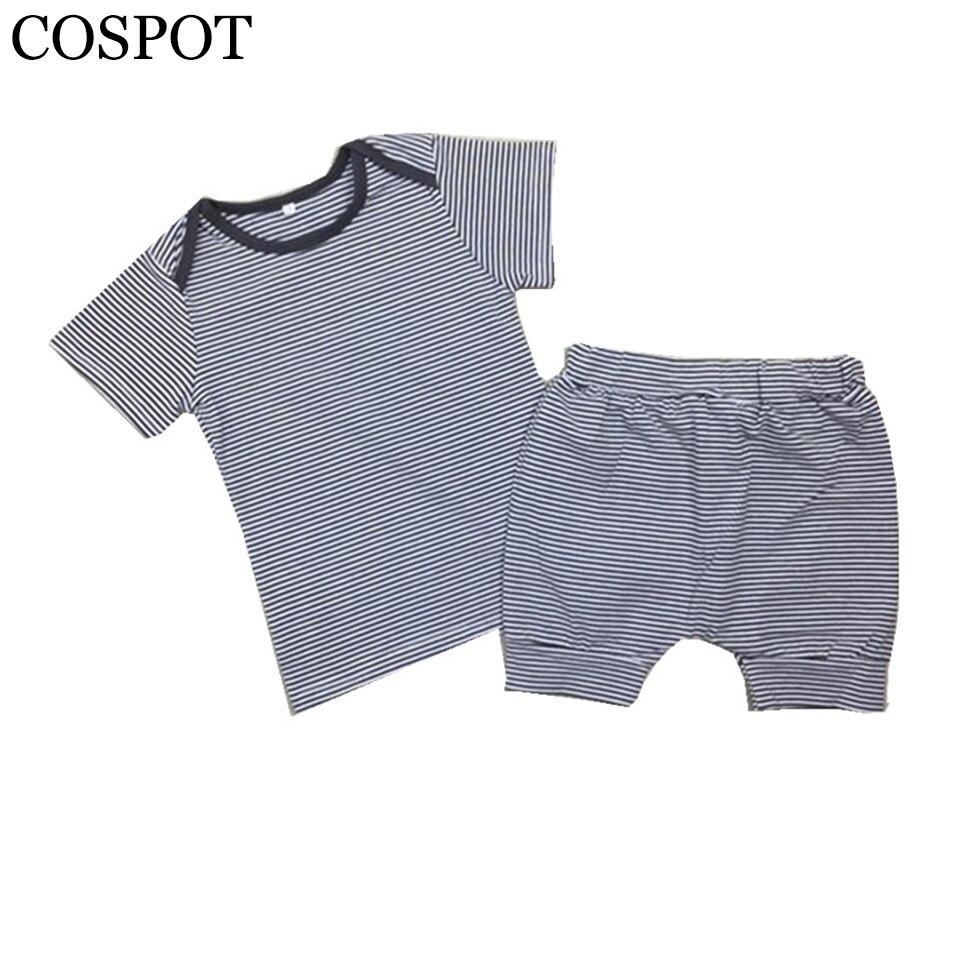 Neonate maschi vestiti di stile di estate messi vestiti di cotone - Abbigliamento per neonato