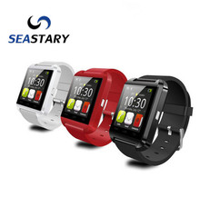 Оригинал Bluetooth Smart Watch U8 Smartwatch U Часы Для iOS iPhone Samsung Sony Huawei Xiaomi Android Телефоны Хорошо, как GT08 DZ09