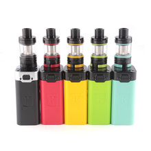 Kanger AKD Five 6 Kit 220w box mod with top filling 8ml Atomizer tank NO 18650 Battery Electronic Cigarette Vape Kit