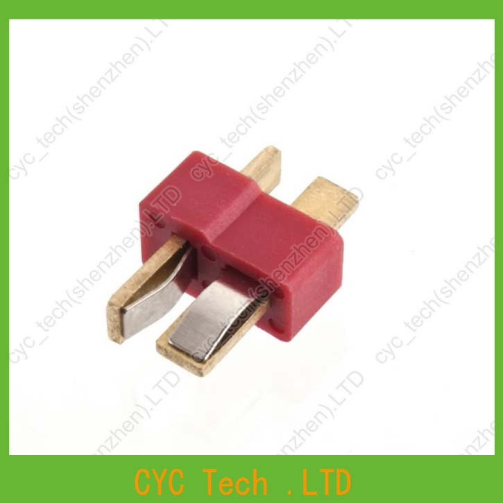 Image 5 - 50pairs Good Quality Large Current Plug Connector Male+Female RC ESC Battery Helicopter T plug for Airplane Car Boat-in Connectors from Lights & Lighting