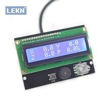 GRBL غير متصل لوحة تحكم ، ماكينة بتحكم رقمي بالكمبيوتر/آلة حفر بالليزر صغيرة النقش وحدة تحكم غير متصل ، وحدة G Sender ، لوحة الشاشة تحكم باستخدام الحاسب الآلي