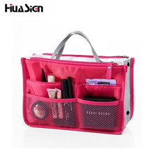 Hot Cosmetic Bag Fashion Women Necessaries Makeup Jewelry multi functional Cosmetic Bags storage bag Makeup Handbag Organizer