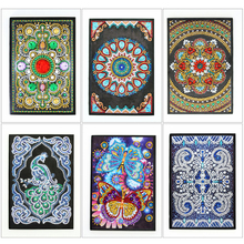 EverShine 5D Diamond Painting Notebook Special Shaped Embroidery Full Set A5 Diary Book Diamonds Art New Arrivals Kits