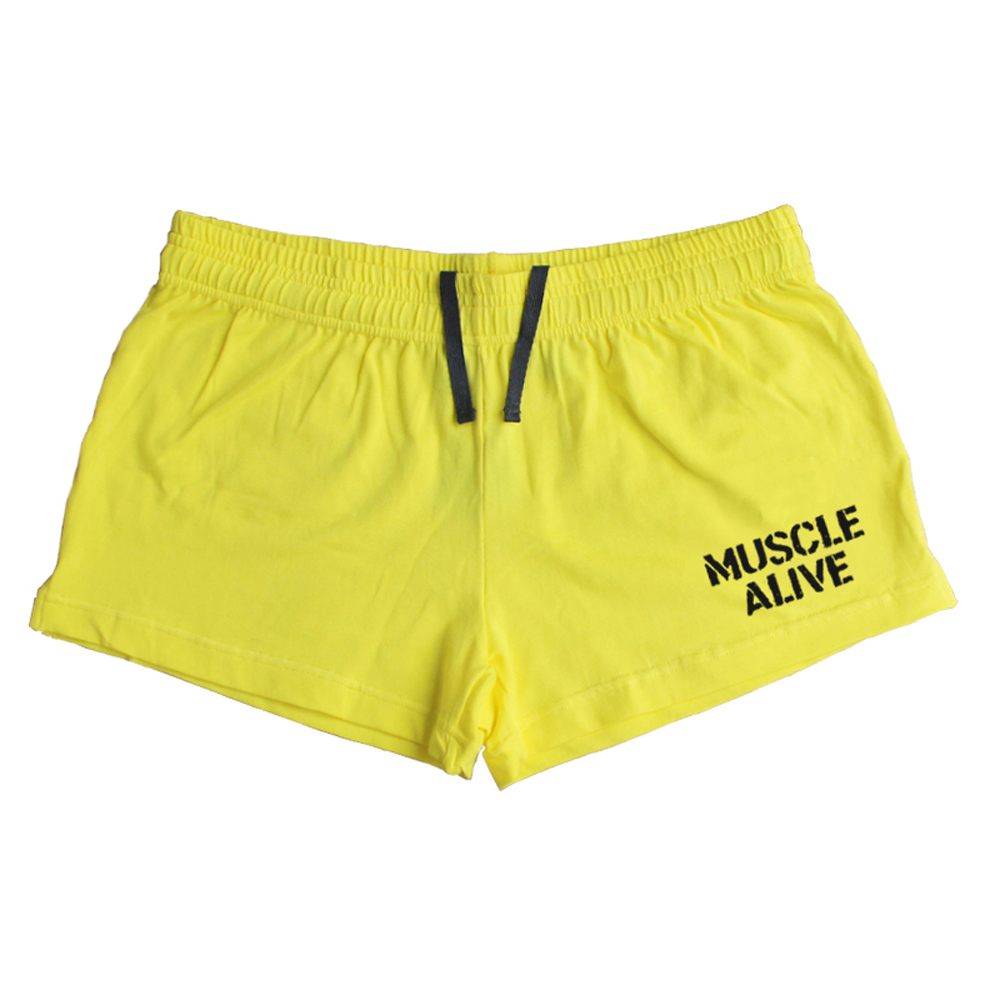 Muscle Alive Sportswear Shorts Pria Bodybuilding Shorts Pria Workout - Pakaian Pria - Foto 4
