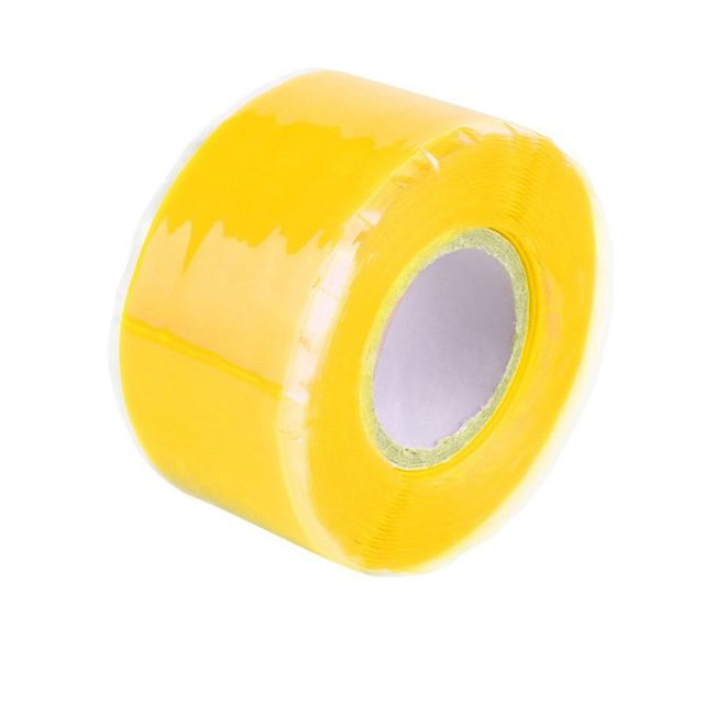 6 Colors Waterproof Silicone Performance Repair Tape Bonding Rescue Self Fusing Wire Hose Green Yellow Transparent Film [category]