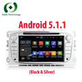 2 Din Android 5.1 Quad Core HD 1024*600 Car DVD Player for Ford Focus Mondeo S-Max Cmax Galaxy car Audio Radio Stereo Head Unit