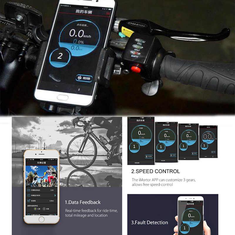 Jueshuai iMortor אופניים חשמליים המרת ערכת סוללה Brushless רכזת הילוך מנוע גלגל בקר מנוע אופניים Ebike MTB קיט