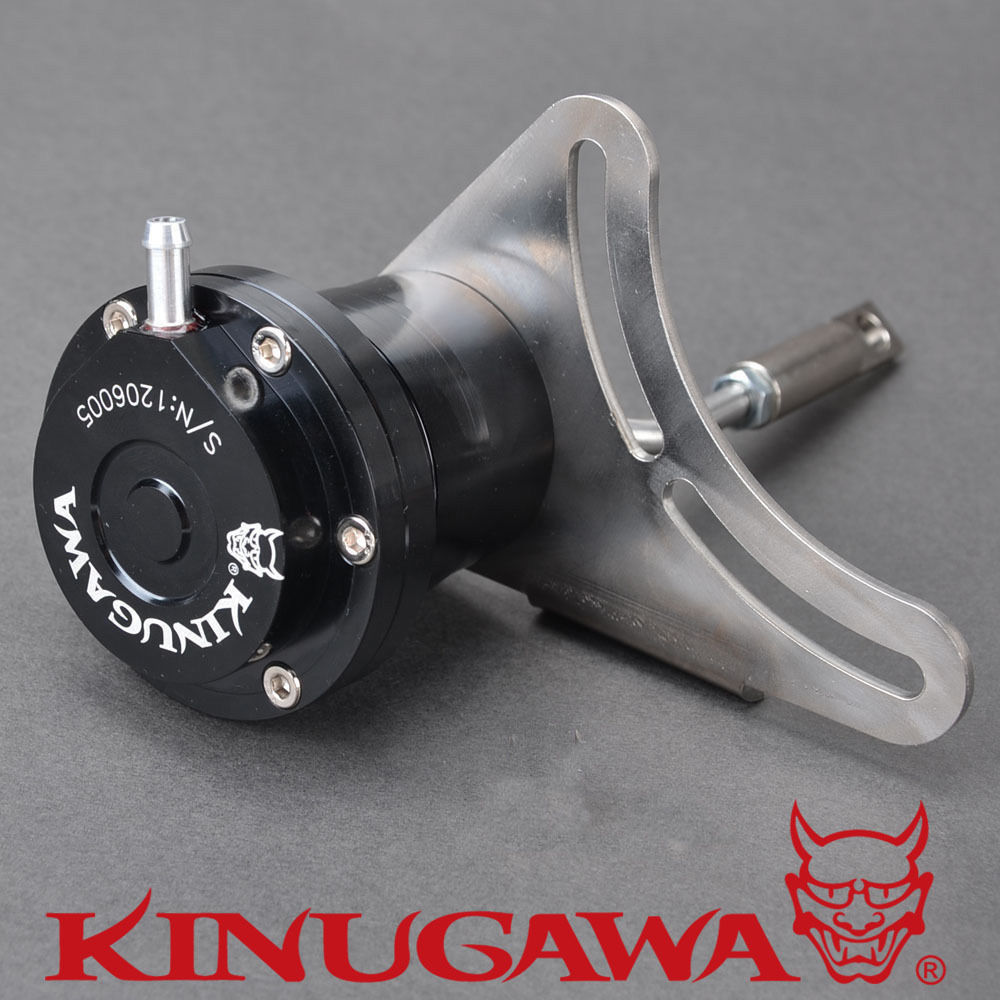 Kinugawa Adjustable Turbo Wastegate Actuator for SUBARU 05~08 Liberty Twin Scroll Turbo 1.0 bar / 14.7 Psi