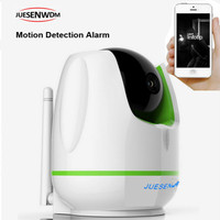 JUESENWDM Video Surveillance Indoor Dome IP Camera Wifi with 2-way Talk Night Vision Mini Camera