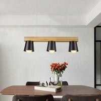 Япония Стиль простой деревянной подвесной светильник современный черный, белый цвет абажур деревянный Открытый Подвесные Светильники Обе