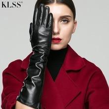 Women Gloves Autumn Goatskin