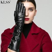 rękawiczki klasyczny Genuine czarny