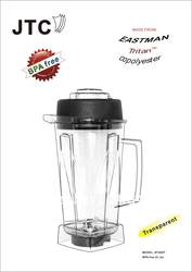 BPA Free банку --- 2L, Модель: # 756RT, ломкий, из eastman Тритан сополиэфире