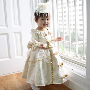 Children's Ball gown Girls princess dress flower girl wedding party Costume pettiskirt Tutu court dress Modis Kids Clothes Y1460