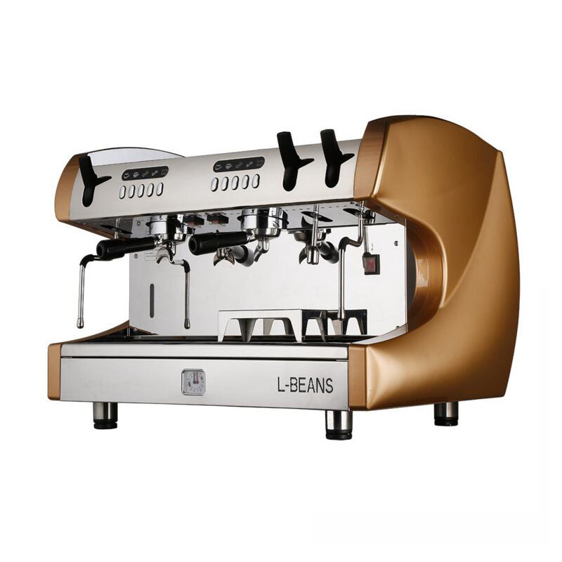 ALDXC10 L302,Italian semi automatic double head,high pressure concentrated,luxury high cup copper boiler coffee machine