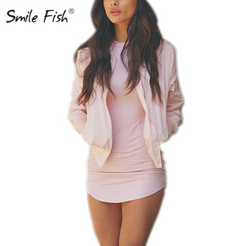 Plus Size Women Clothing 2019 Long Sleeve Mini Bodycon Tunic Slim Party Sexy Clubwear Side Split Tshirt Bandage Dresses M0462 4