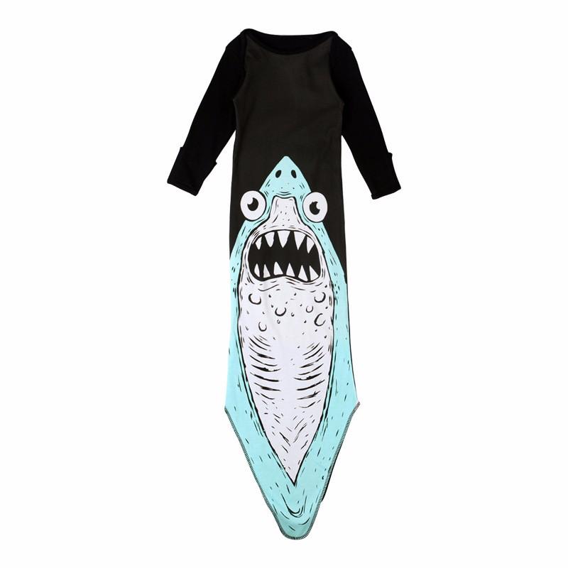 Cotton Baby Sleeping Bag Cartoon Warm Air Bed Penguins Sleeping Bags Shark Boy Girl Bag Mermaids Blanket  Bears Infant Clothing (29)