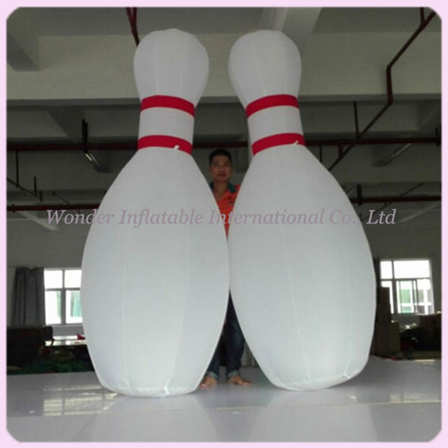 US $395 0  Custom 10ft giant inflatable bowling pins for bowling ball game  advertising-in Party DIY Decorations from Home & Garden on Aliexpress com  