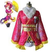 Love Live Kaguya No Shiro De Odoritai Angelic Angel Nishikino Maki Kimono Uniform Dress Outfit Anime Cosplay Costumes