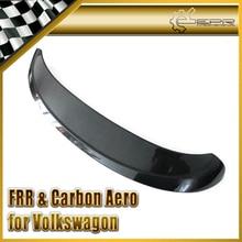 Car-styling For Volkswagen VW Golf MK6 ABT Carbon Fiber Rear Spoiler In Stock